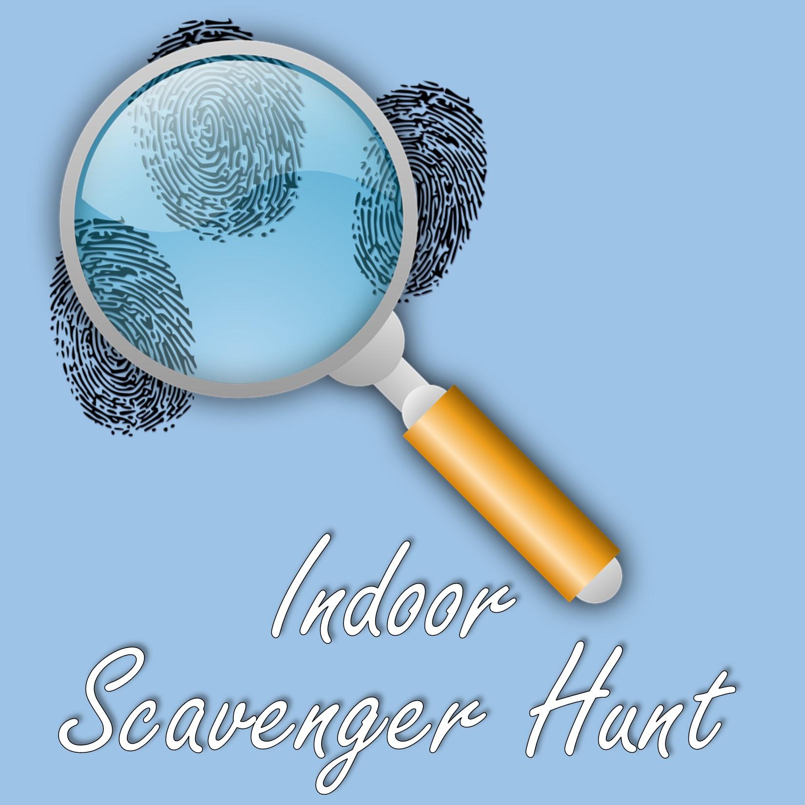 Indoor Scavenger Hunt Logo